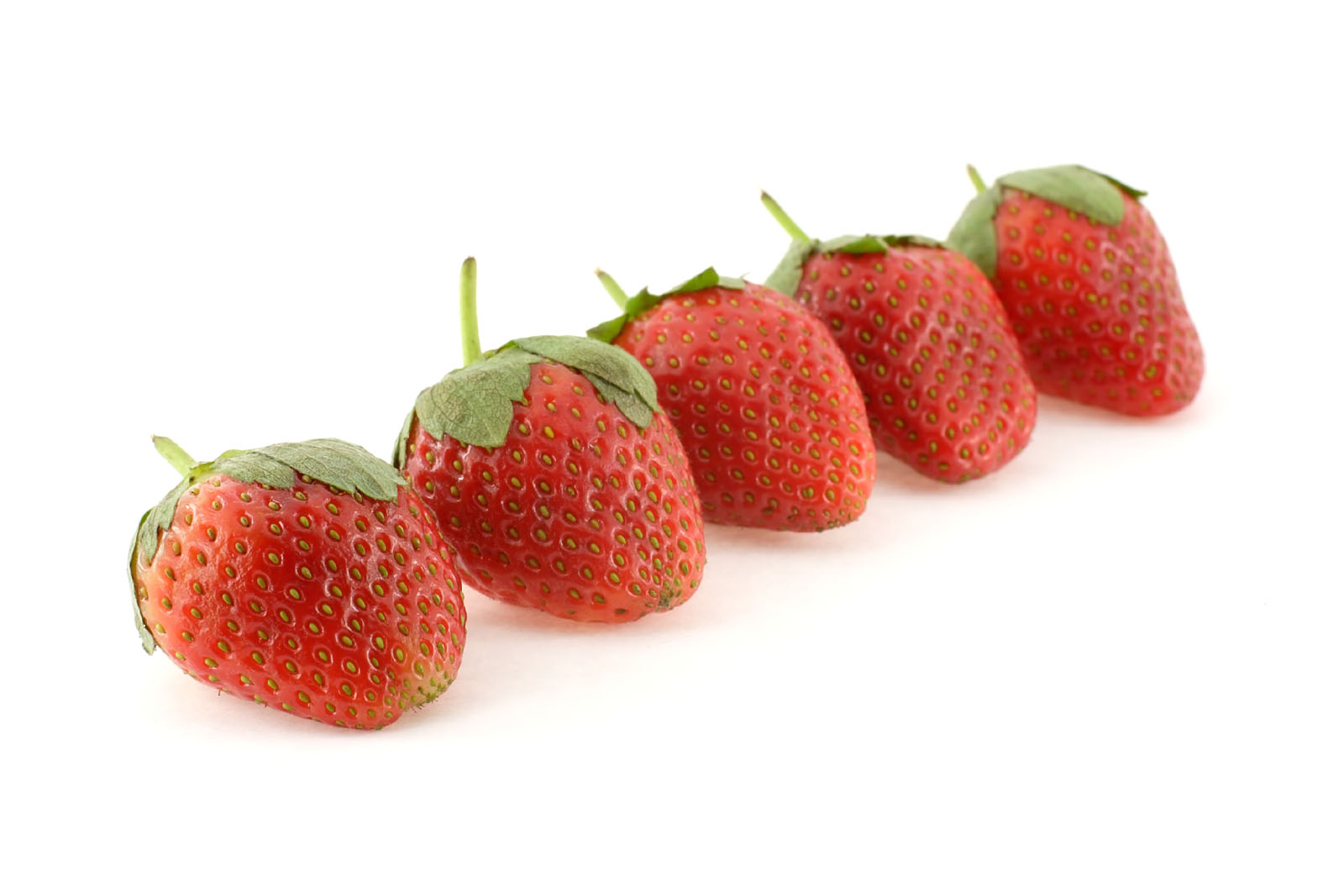 Strawberry close-up high-definition 11373