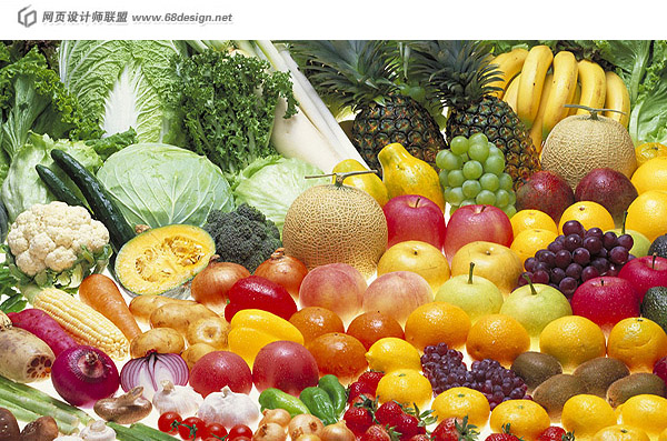 Material fruits and vegetables 14578
