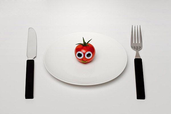 Vegetables and fruits Funny face 23298