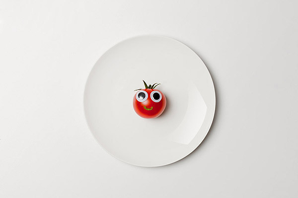 Vegetables and fruits Funny face 23323