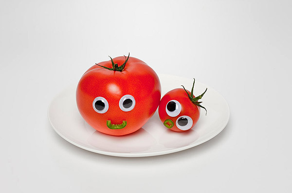 Vegetables and fruits Funny face 23373