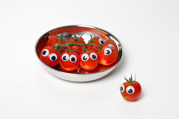 Vegetables and fruits Funny face 23495