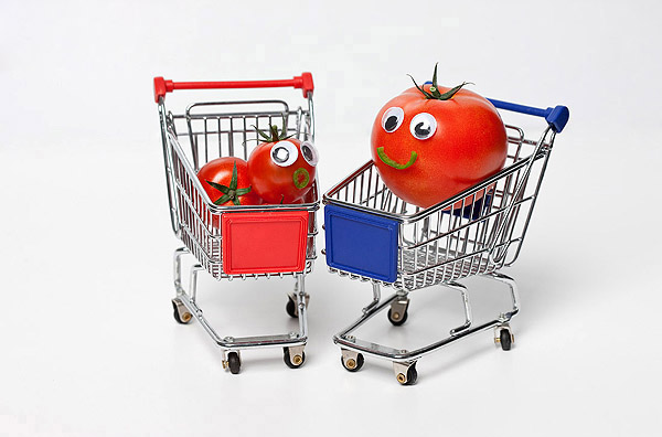 Vegetables and fruits Funny face 23541