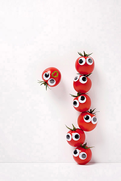 Vegetables and fruits Funny face 23702