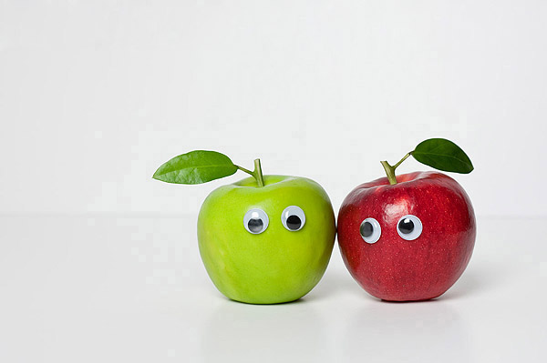 Vegetables and fruits Funny face 23748