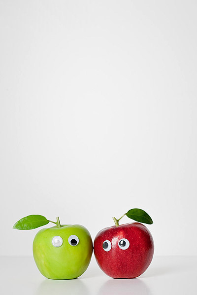 Vegetables and fruits Funny face 23771