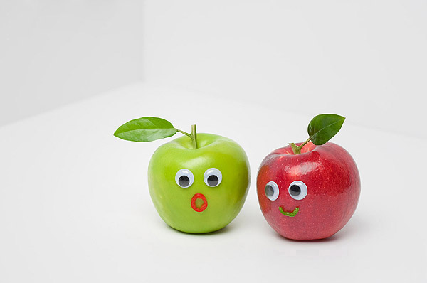 Vegetables and fruits Funny face 23794