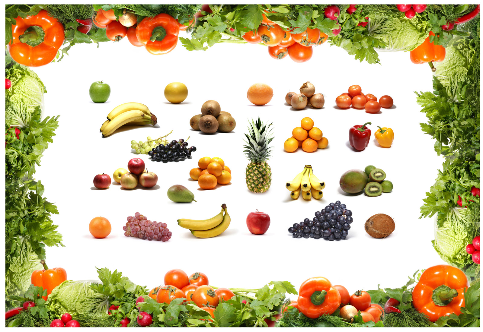 Fruits and vegetables 26109