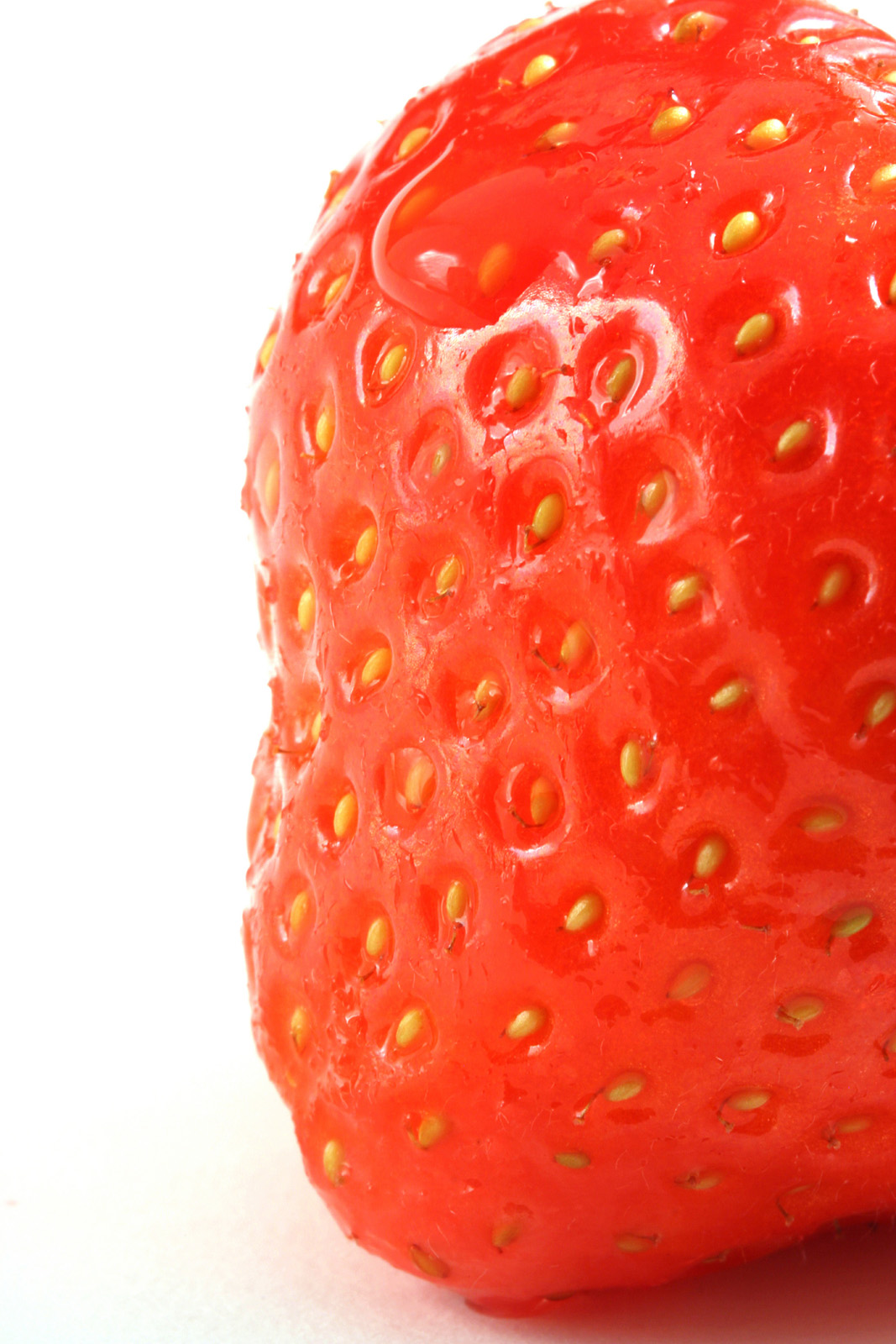 Strawberry close-up high-definition 6740