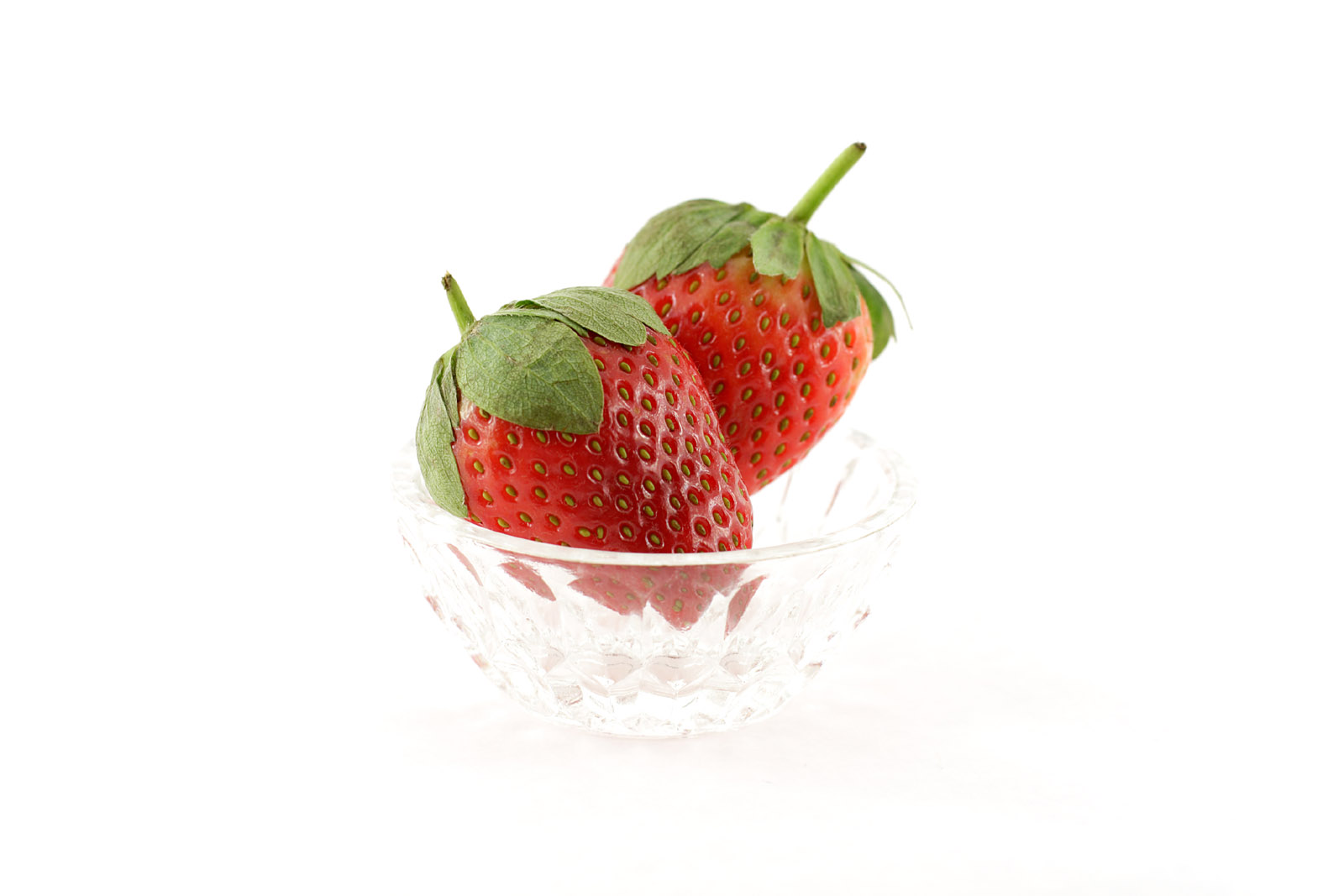 Strawberry close-up high-definition 9475