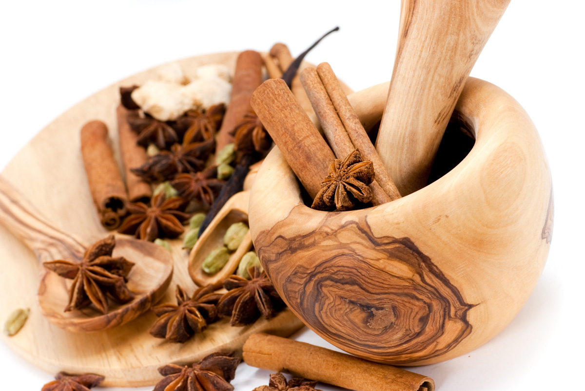 Pictures of various spices 5951