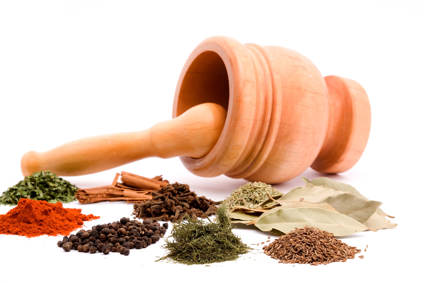 Pictures of various spices 6491