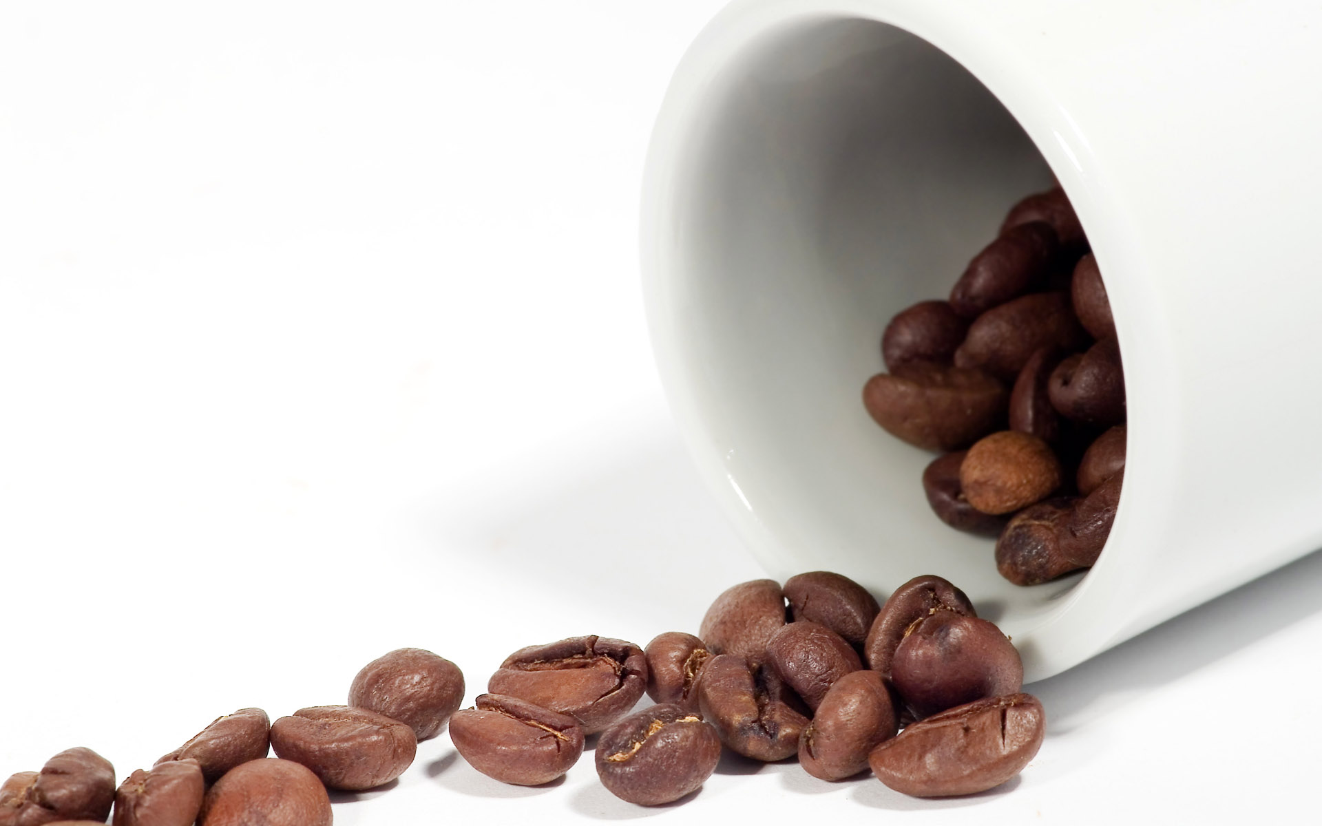 Coffee and coffee beans close-up 15604