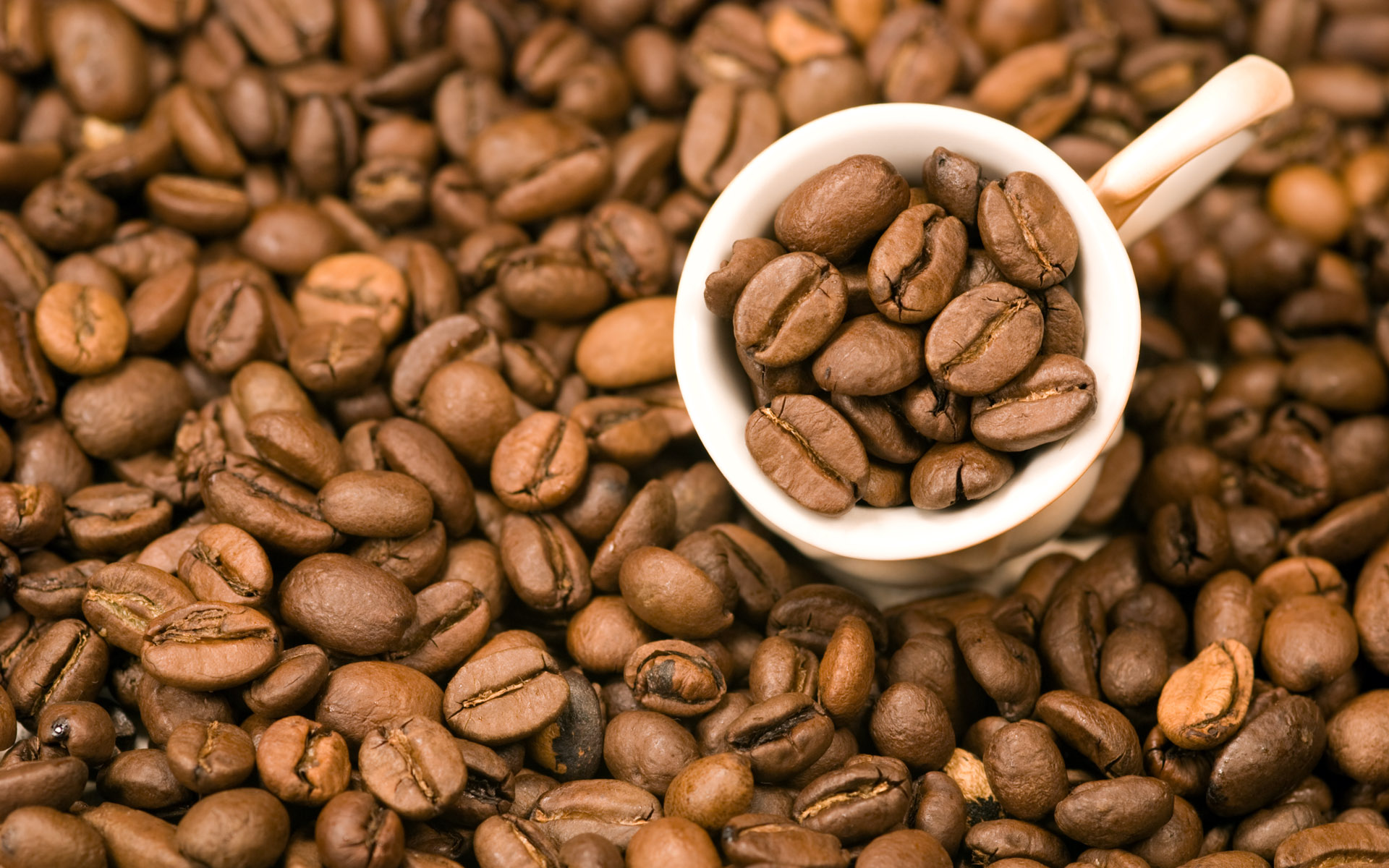 Coffee and coffee beans close-up 15963