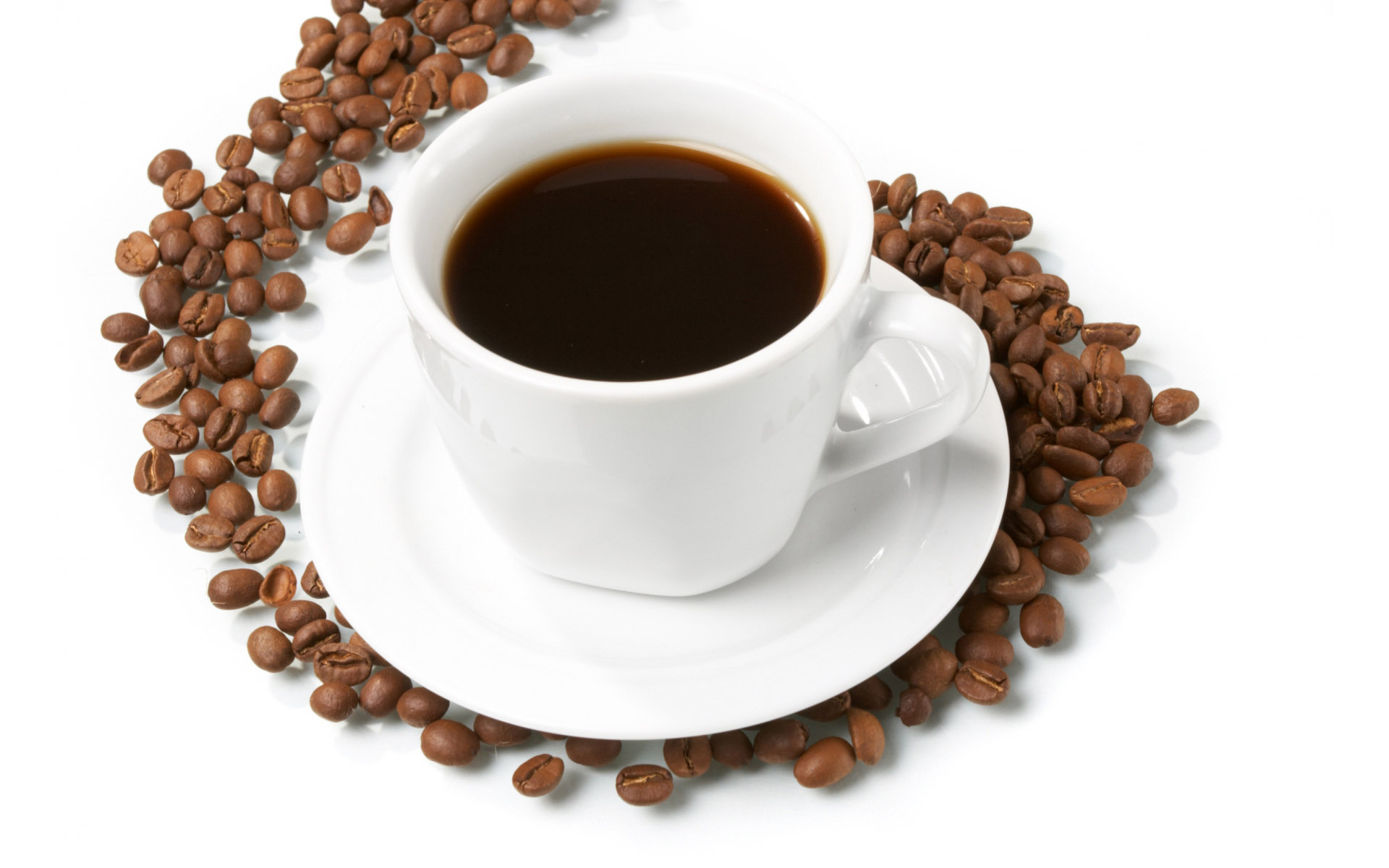 Coffee and coffee beans close-up 16317