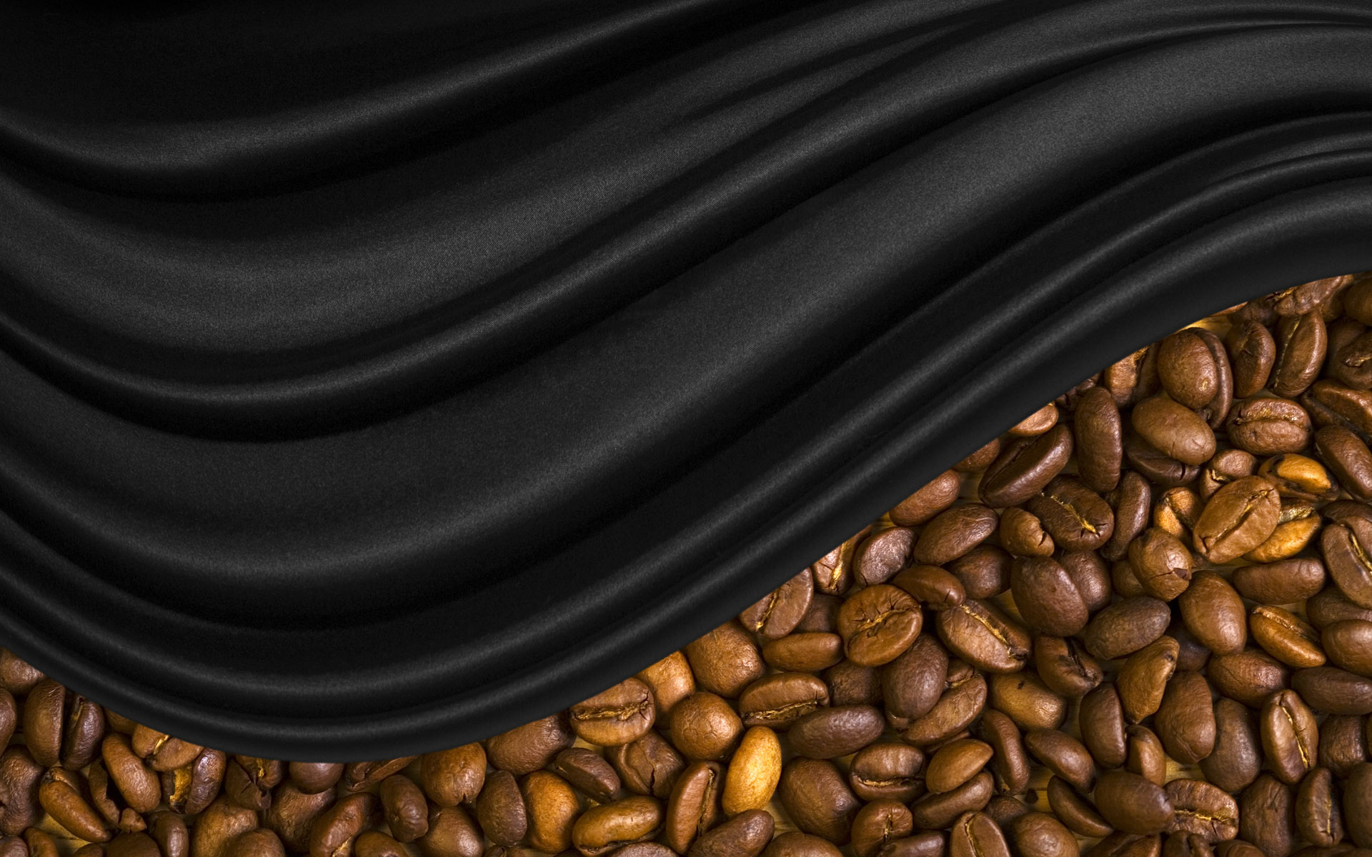 Coffee and coffee beans close-up 16668