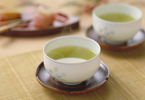 Green tea and tea pictures 7237