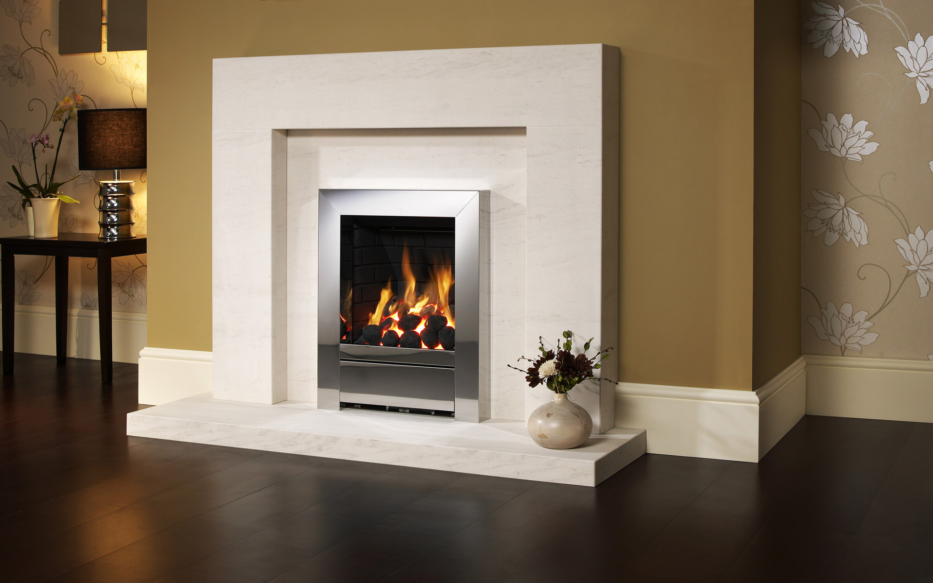 Western-style home fireplace 23096