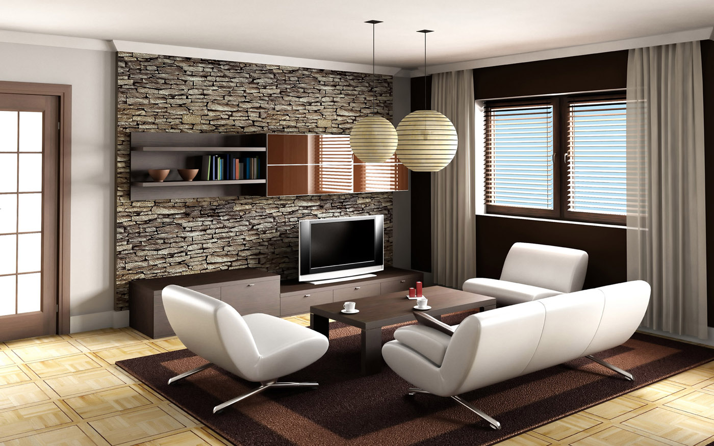 High definition living room photo 24310 - Indoor Home ...
