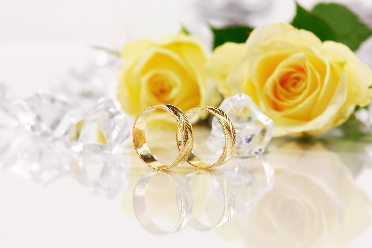wedding flower ring