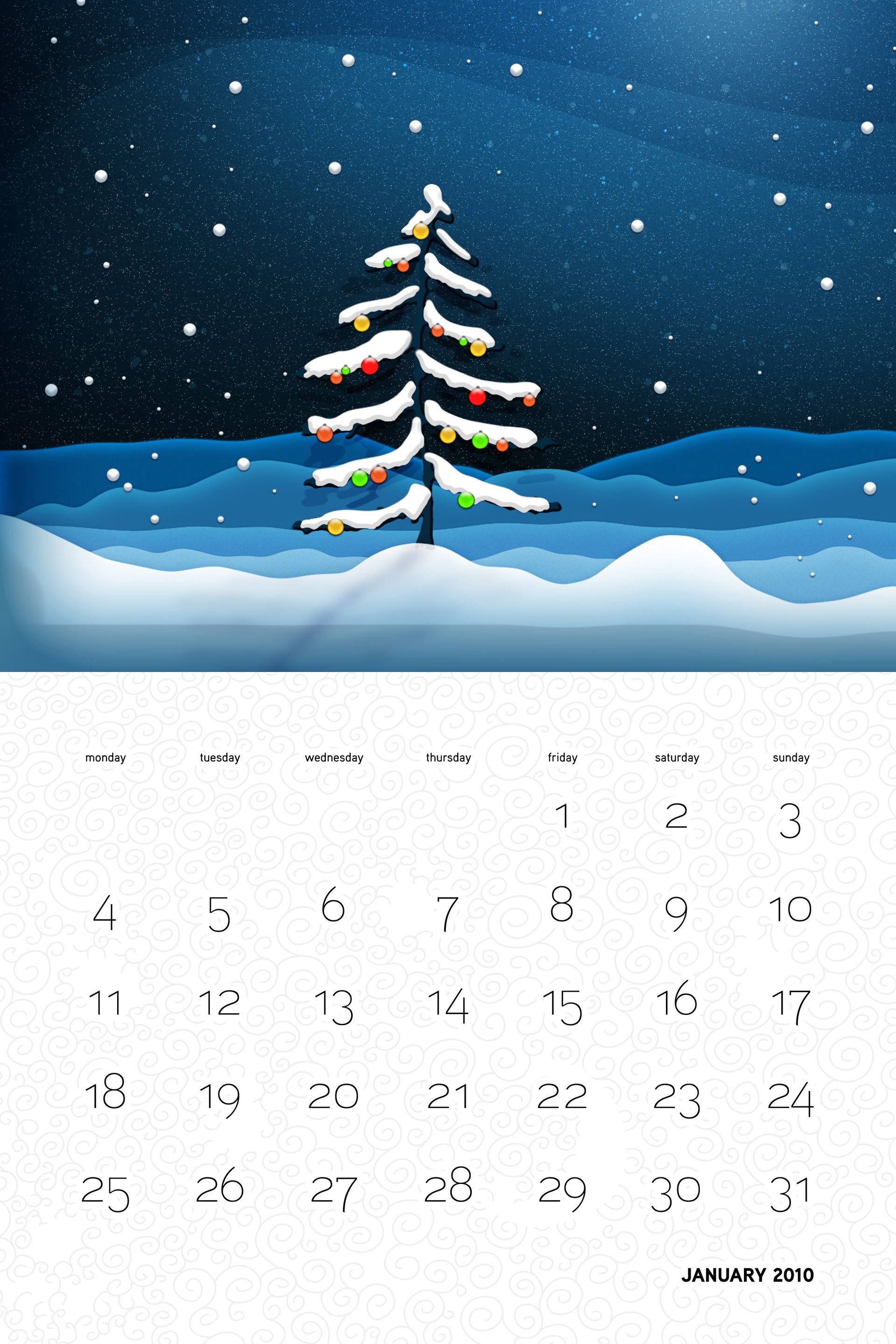 Vlad Christmas Calendar Wallpaper 26188