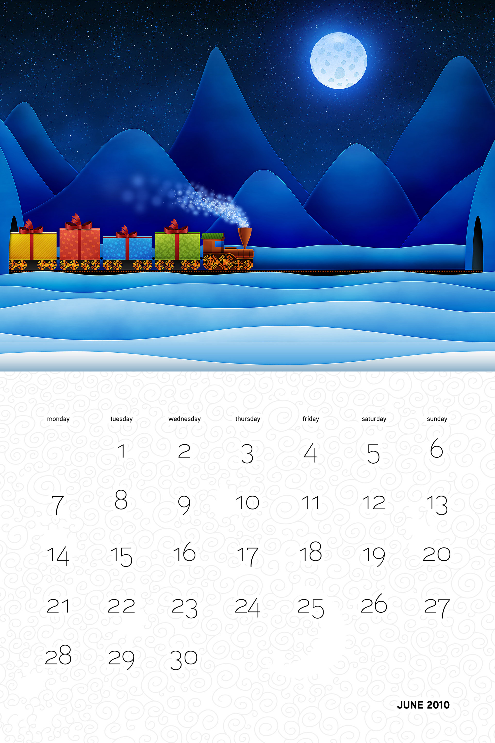 Vlad Christmas Calendar Wallpaper 26251