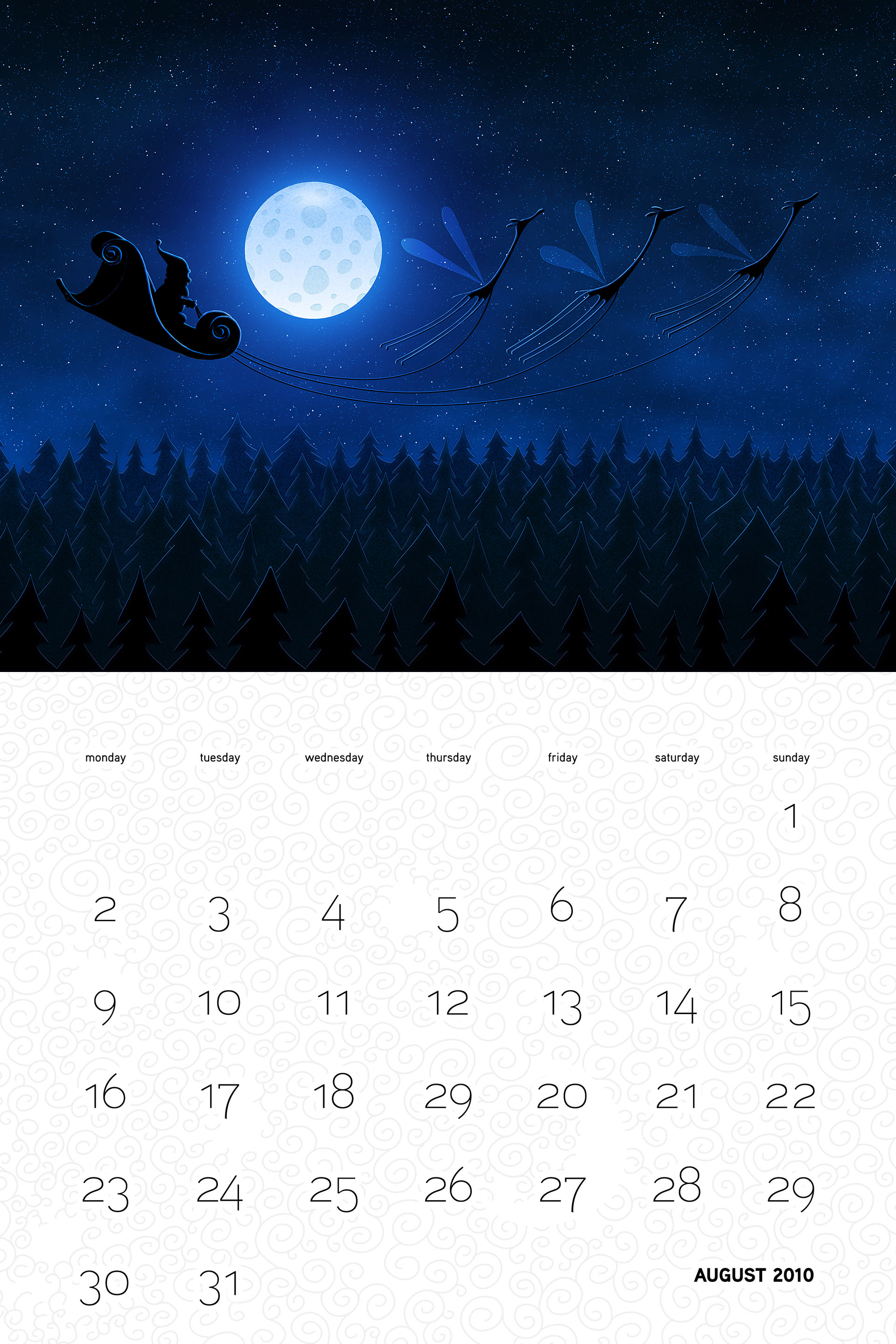 Vlad Christmas Calendar Wallpaper 26275