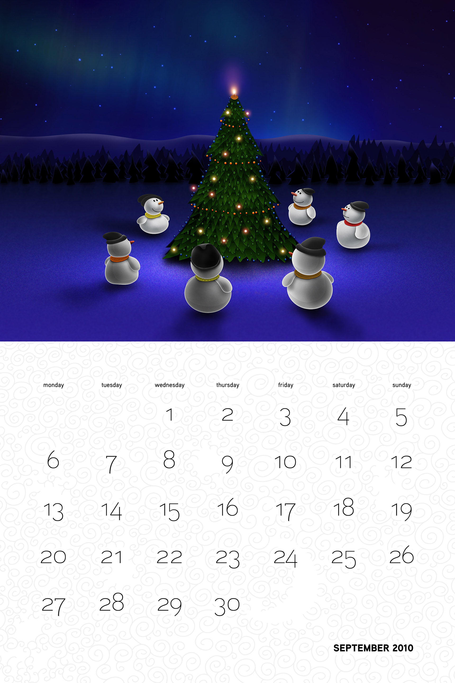 Vlad Christmas Calendar Wallpaper 26287