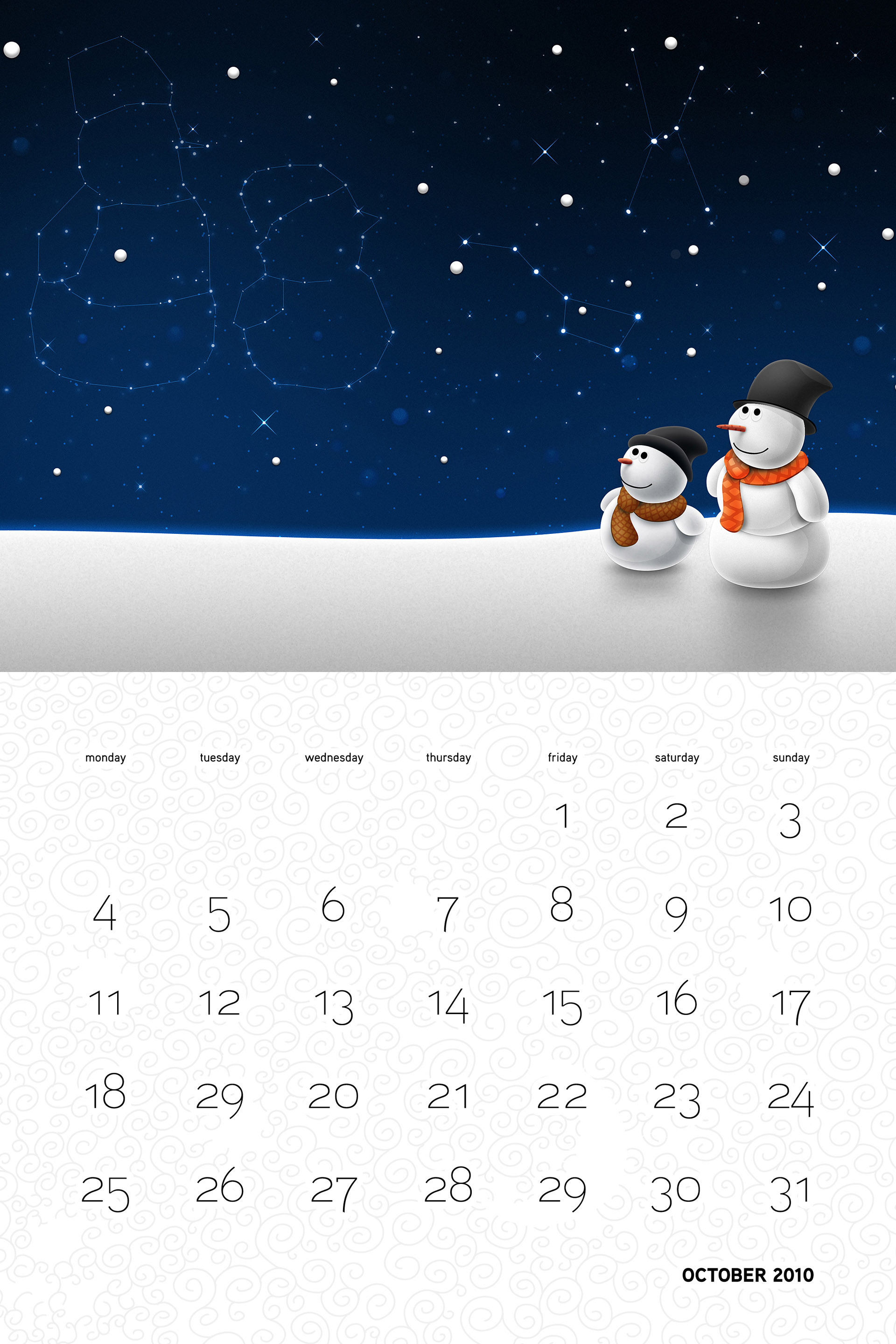 Vlad Christmas Calendar Wallpaper 26299