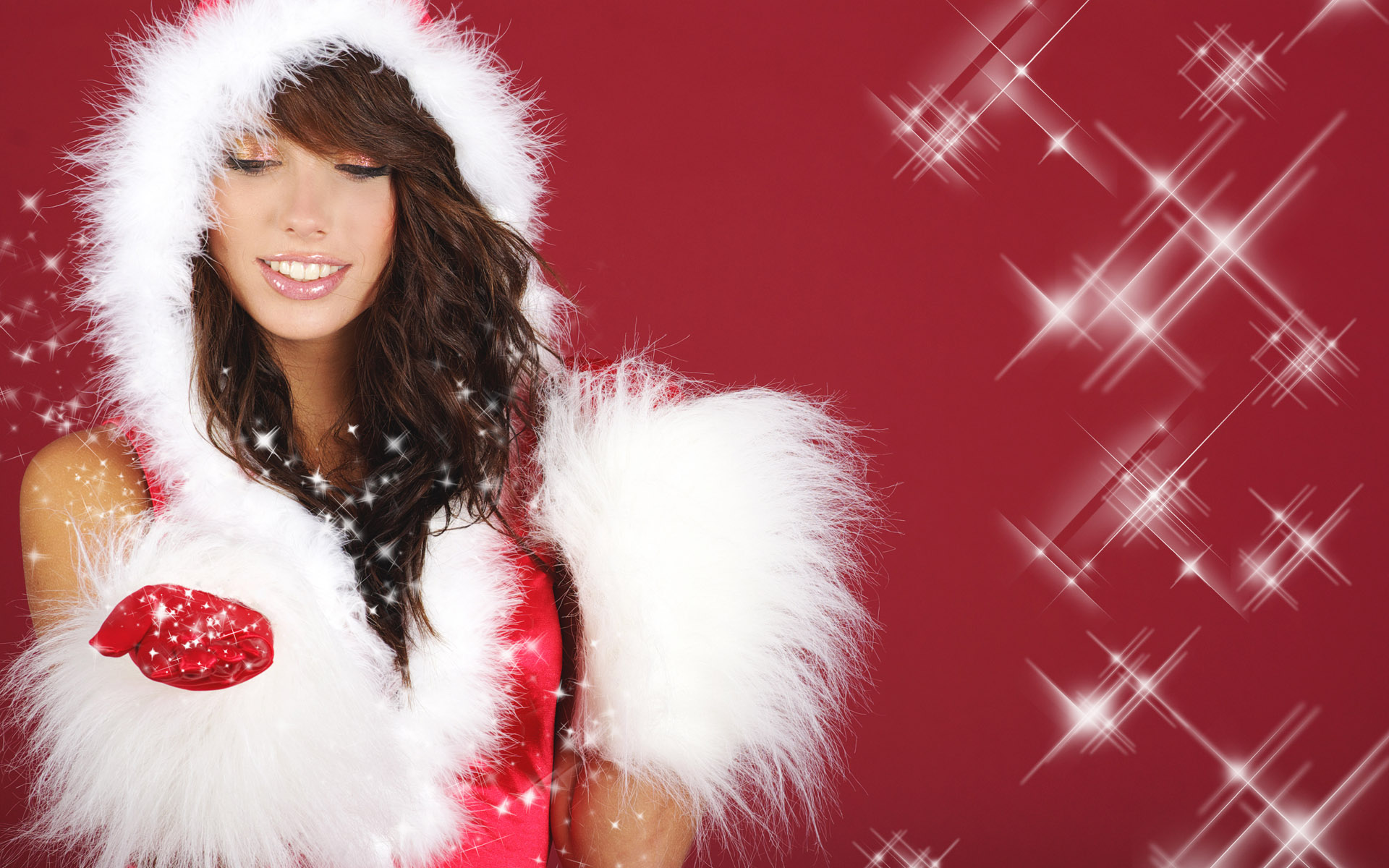 High-definition Christmas girl 26359