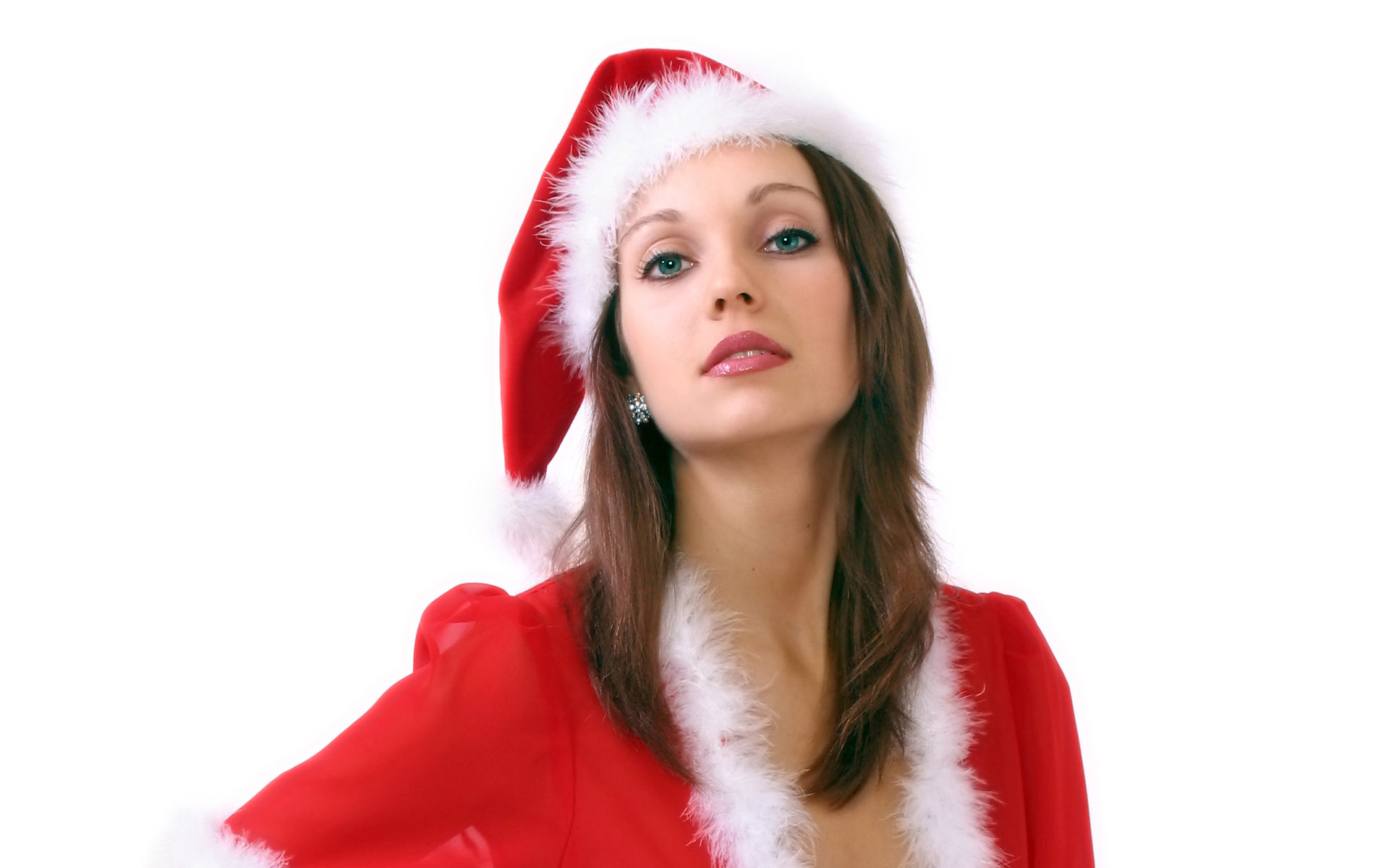 High-definition Christmas girl 26607