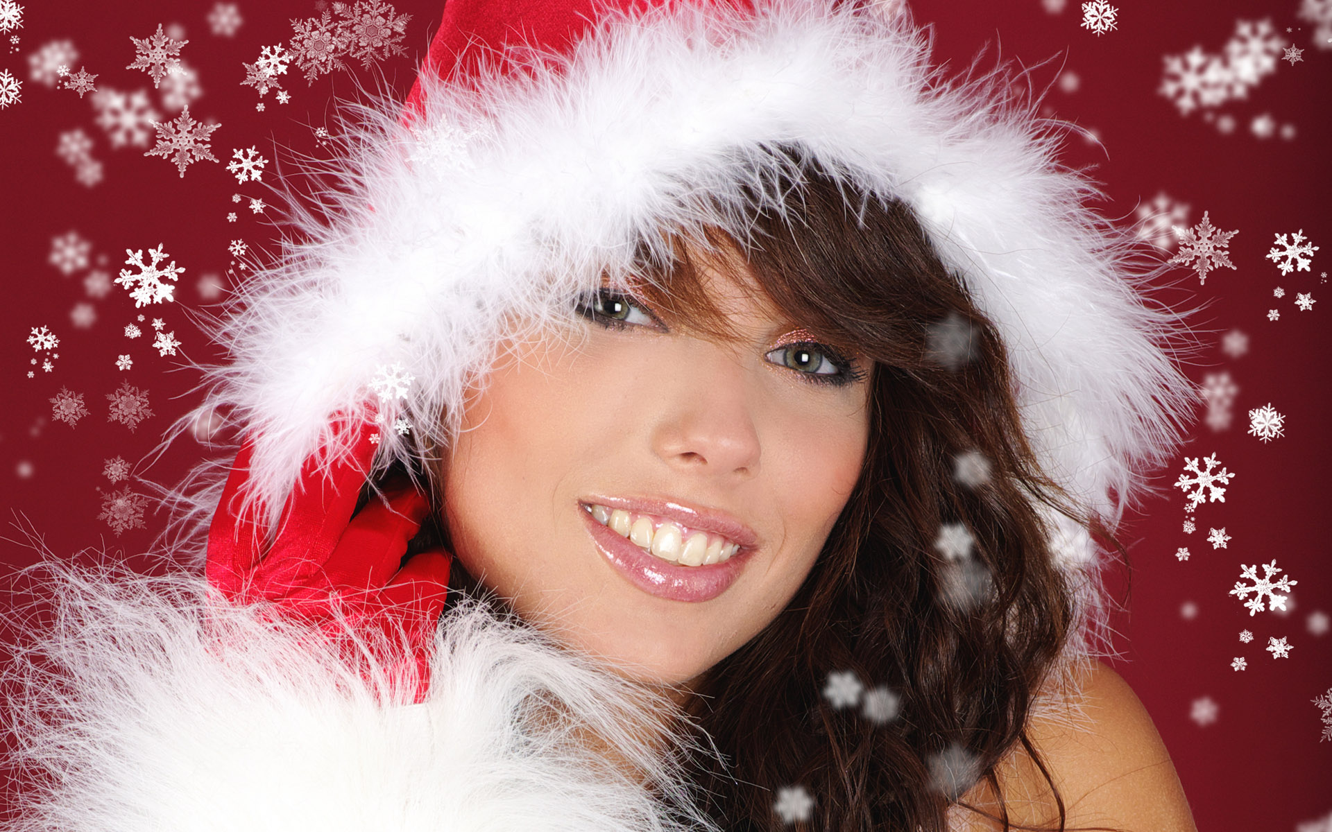 High-definition Christmas girl 26647