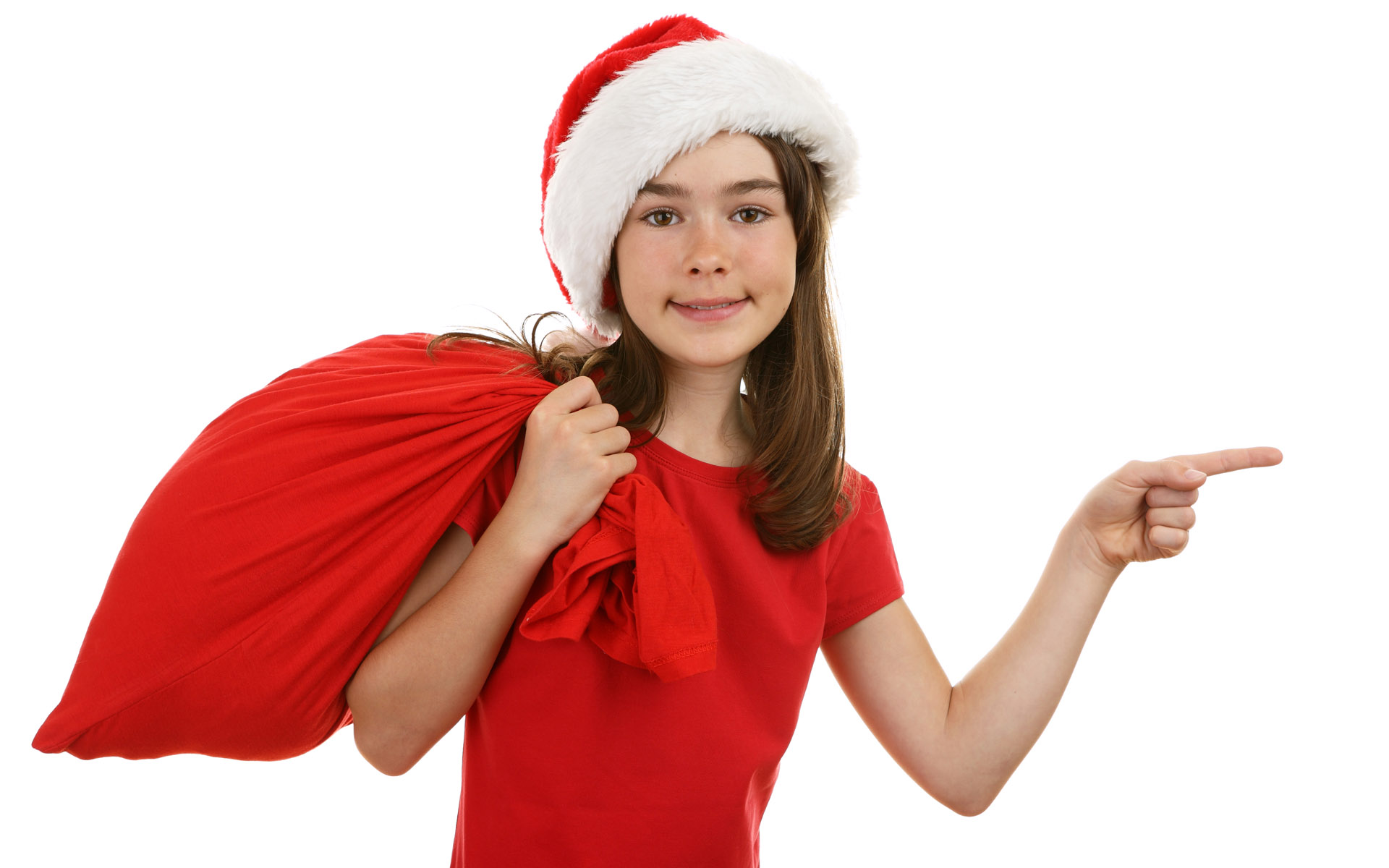 High-definition Christmas girl 26677