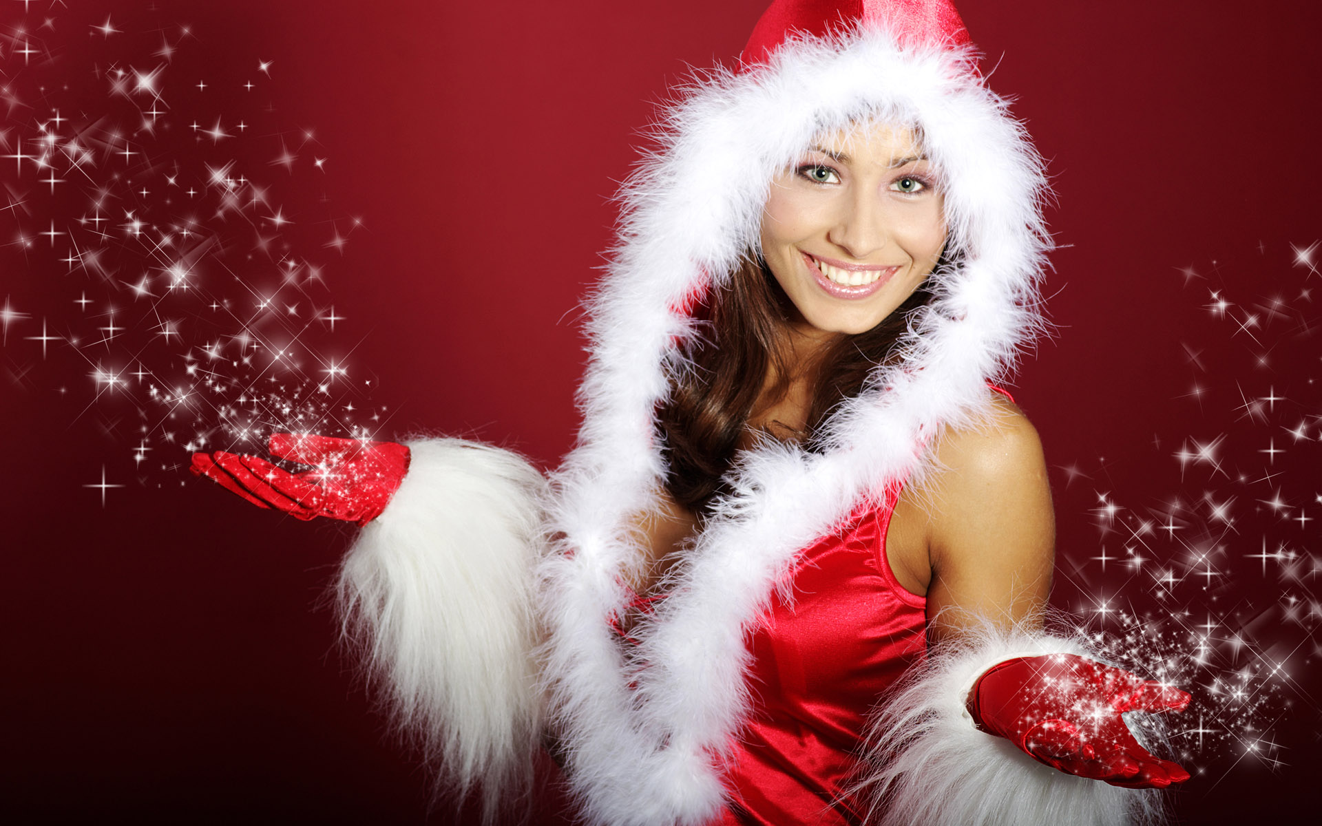 High-definition Christmas girl 26746