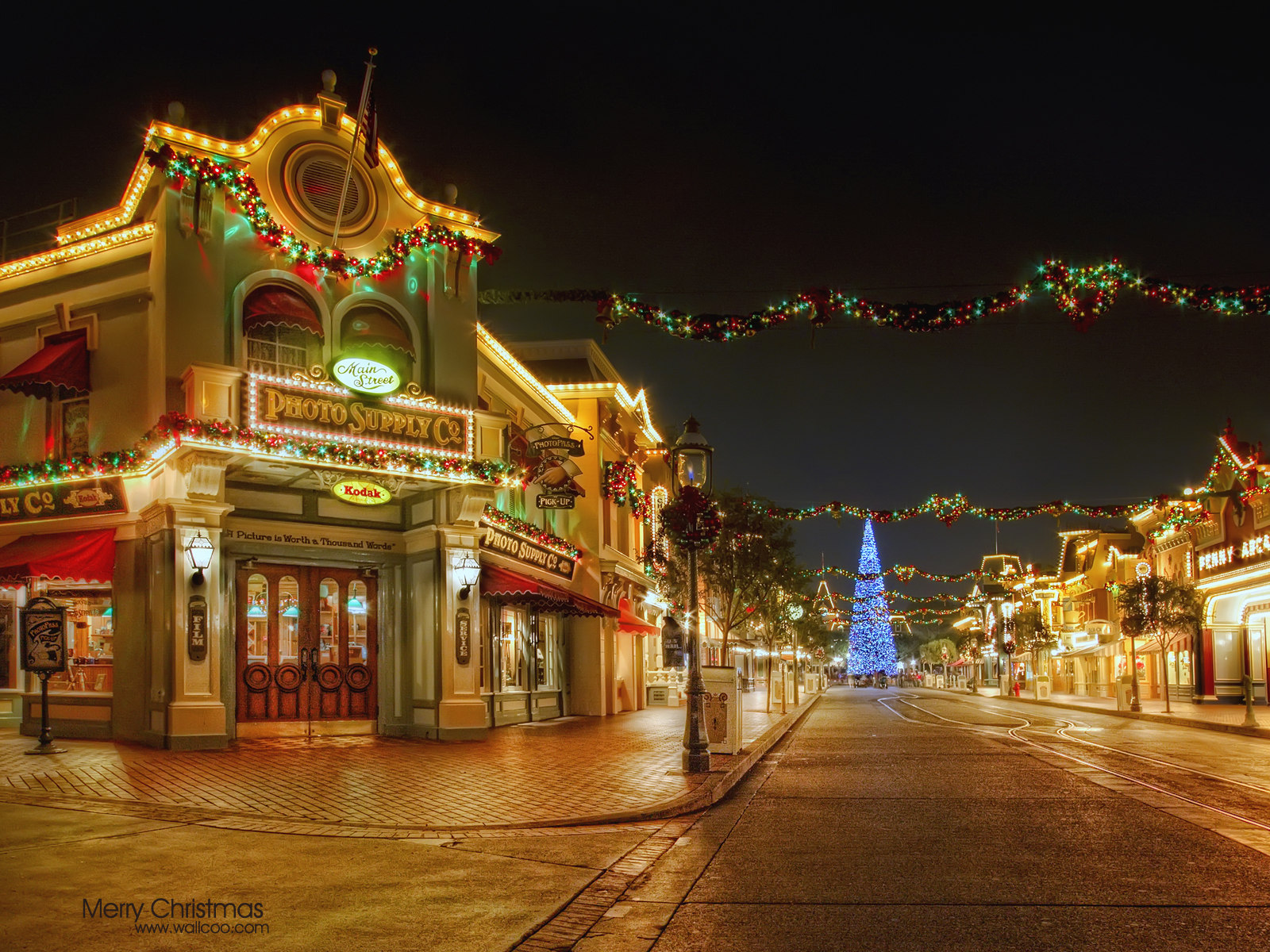 Disneyland Christmas Night 28201