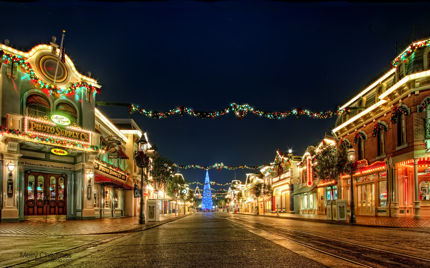 Disneyland Christmas Night 28209