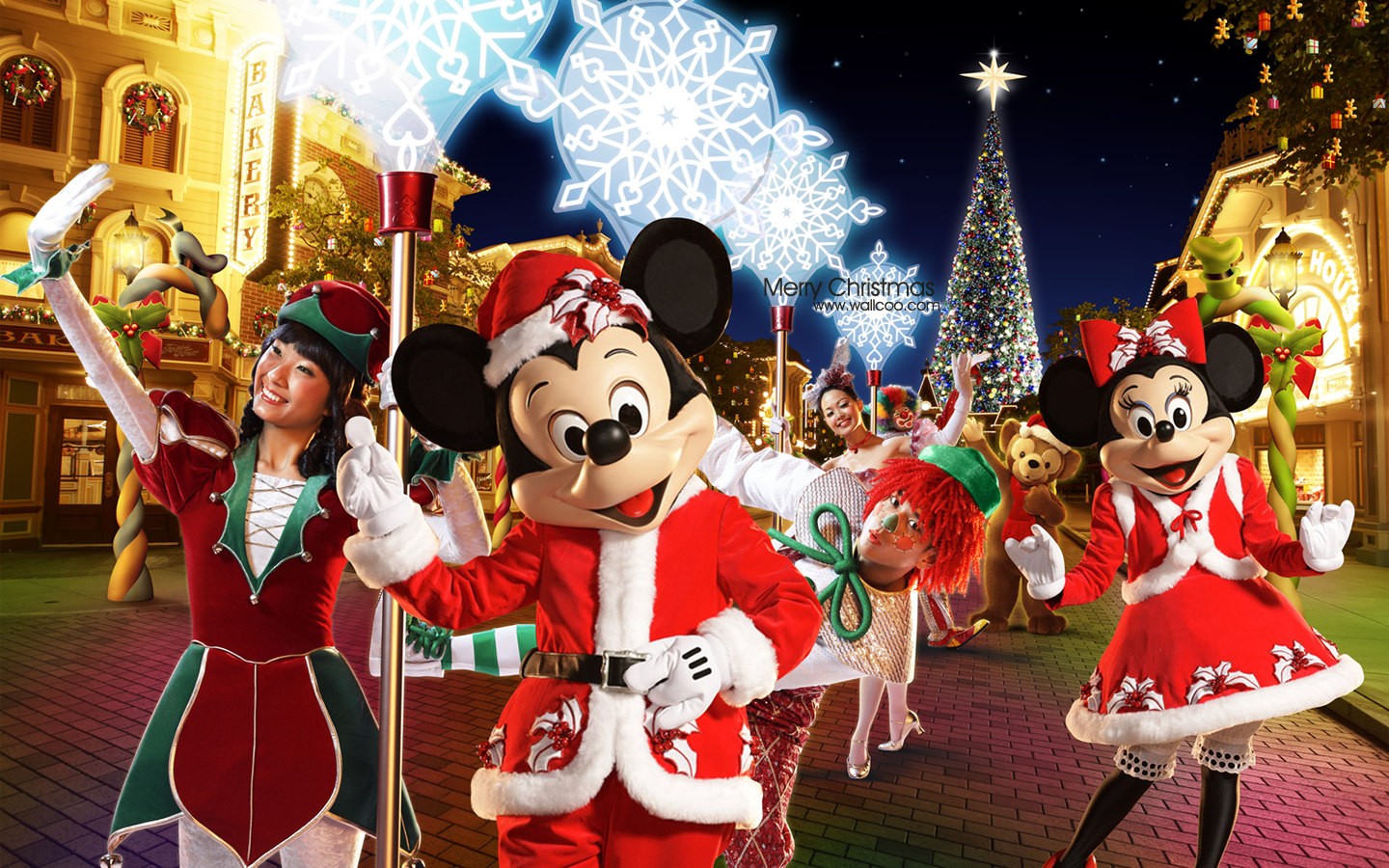 Hong Kong Disneyland's Christmas Wallpaper 28245