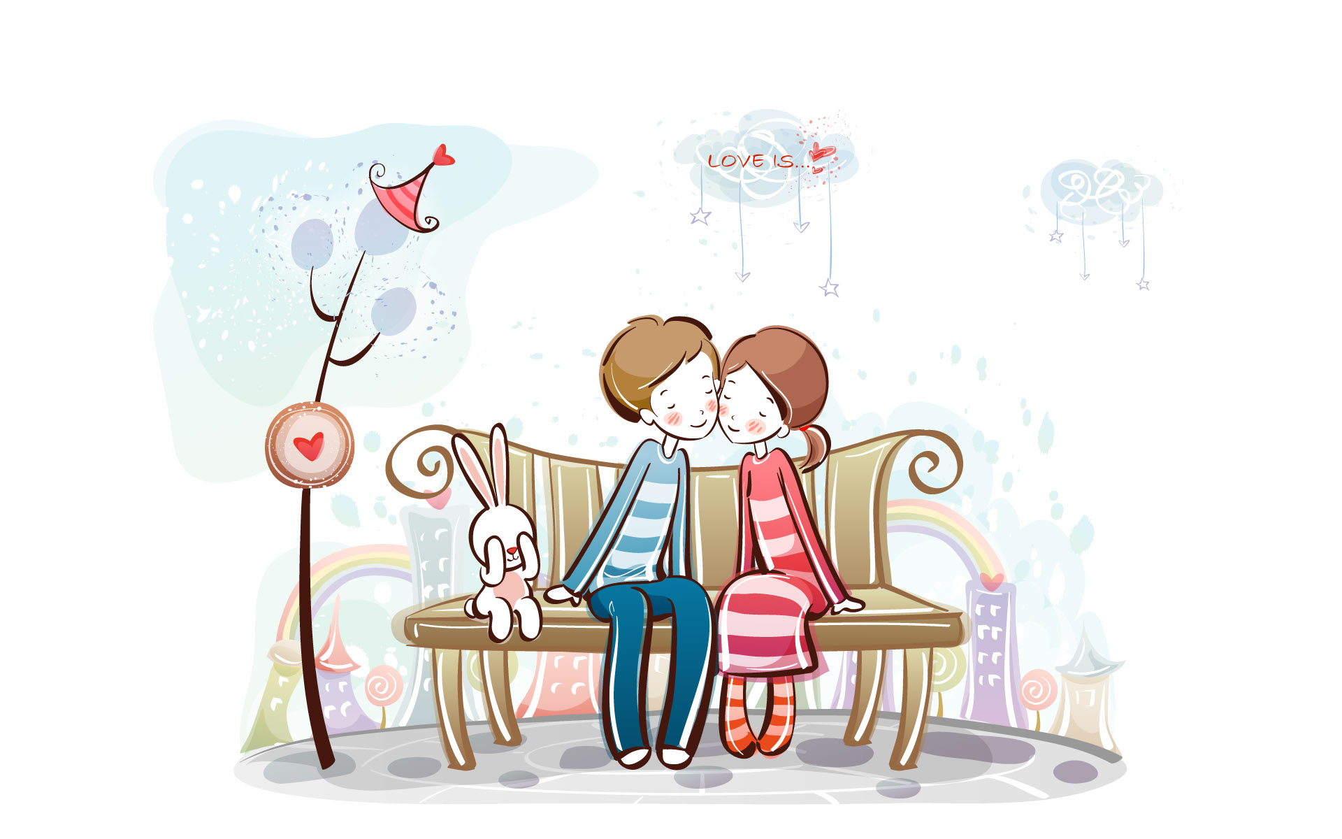 Romantic Valentine's Day illustration class 10727