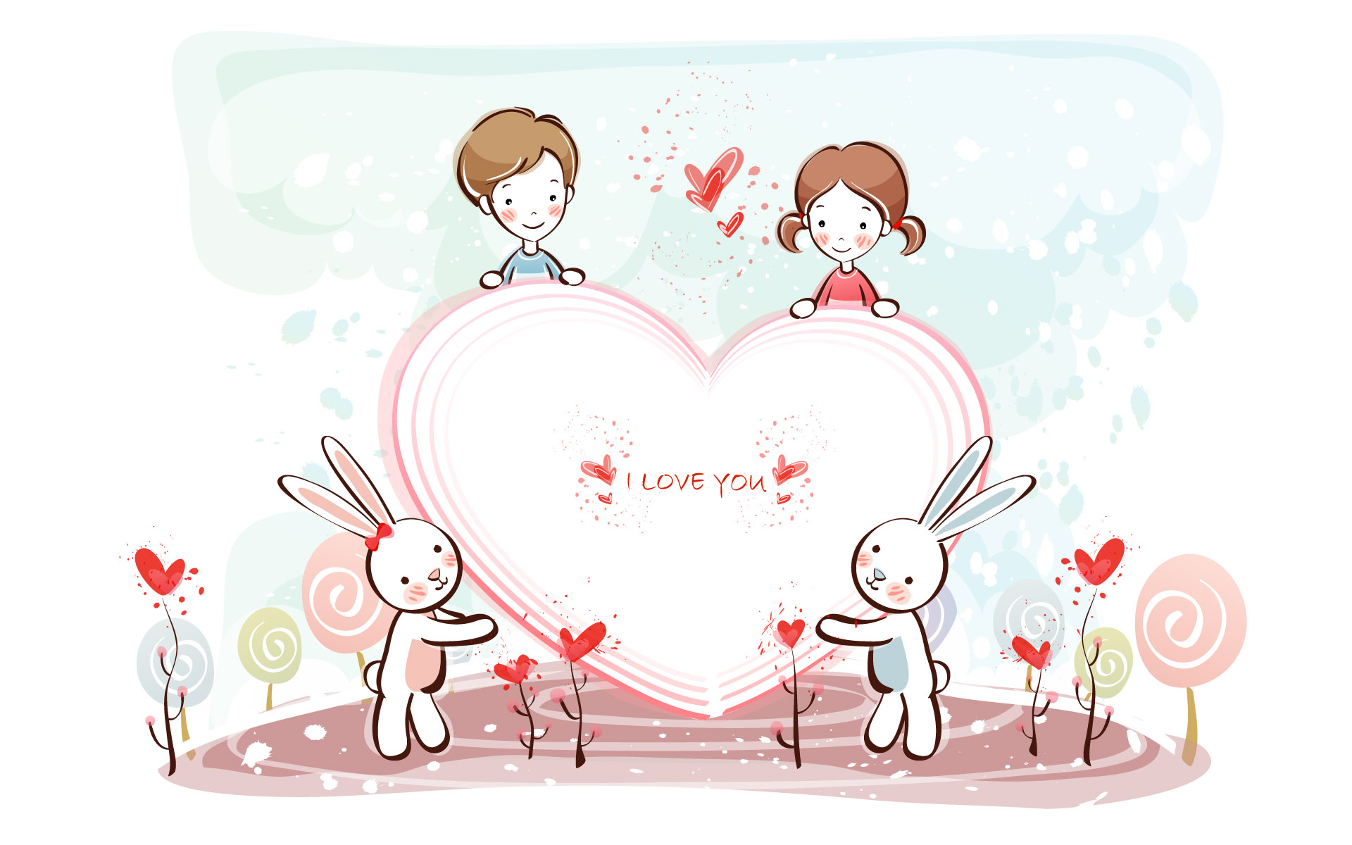 Romantic Valentine's Day illustration class 11203