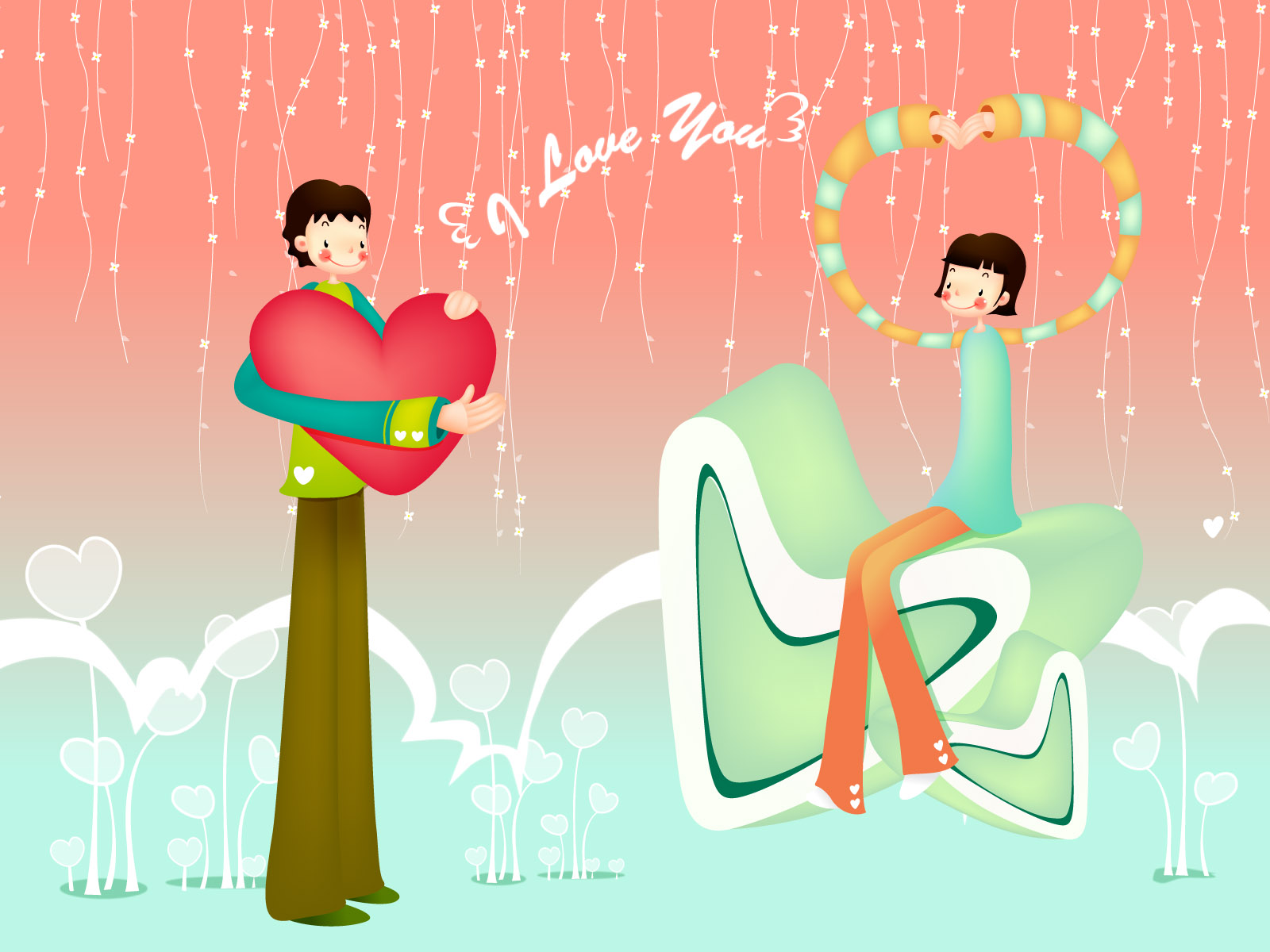 Romantic Valentine's Day illustration class 12423