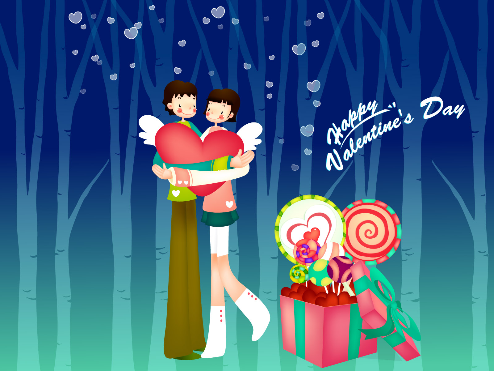 Romantic Valentine's Day illustration class 12997