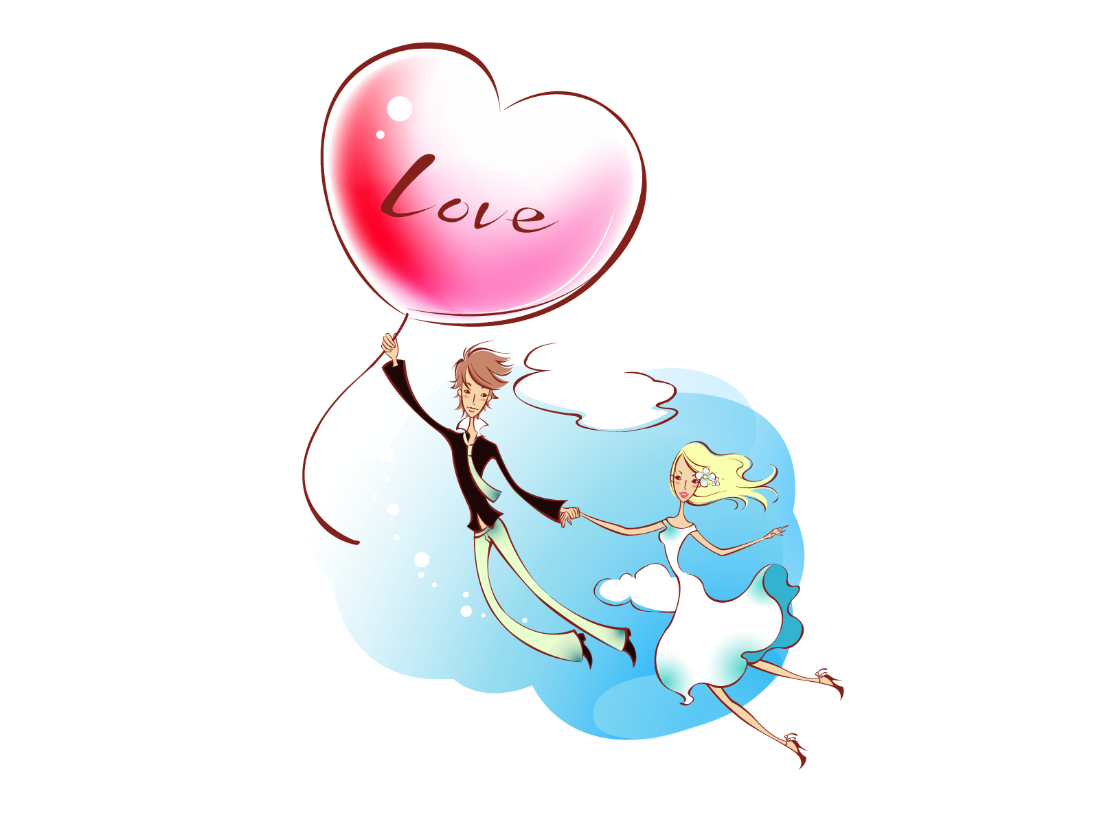 Romantic Valentine's Day illustration class 6753