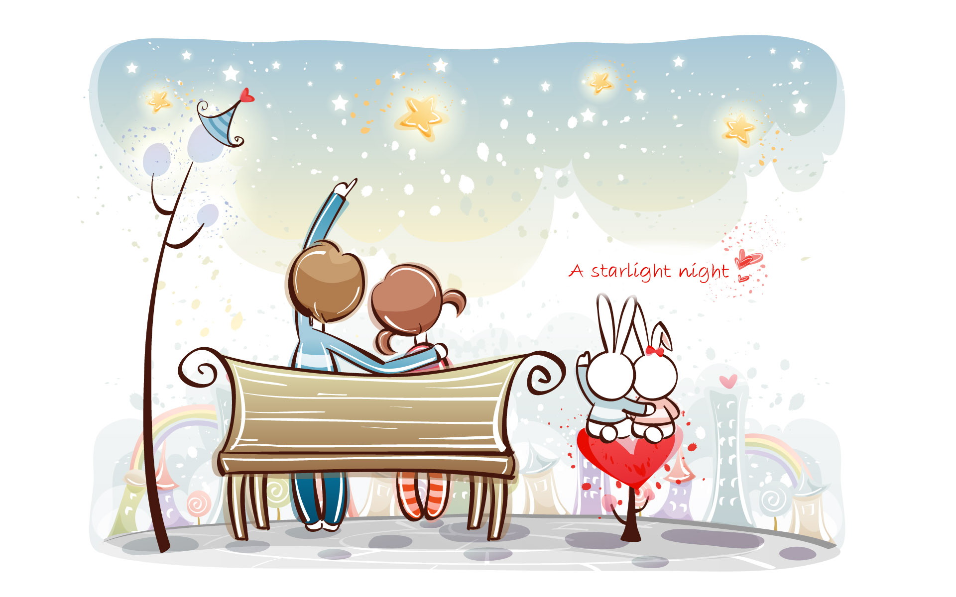 Romantic Valentine's Day illustration class 9593