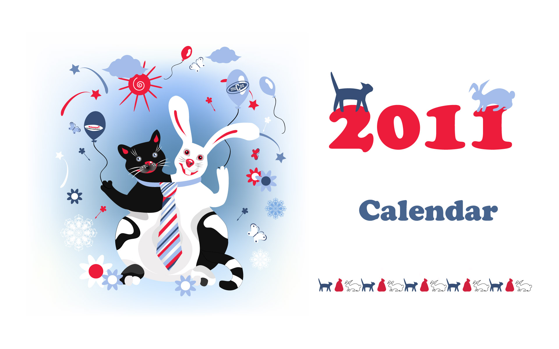 Calendar Year of the Rabbit 15427
