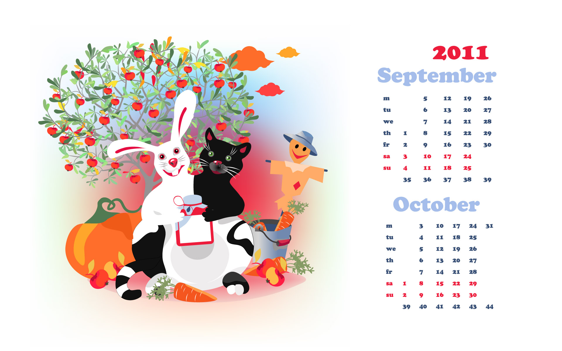 Calendar Year of the Rabbit 15671