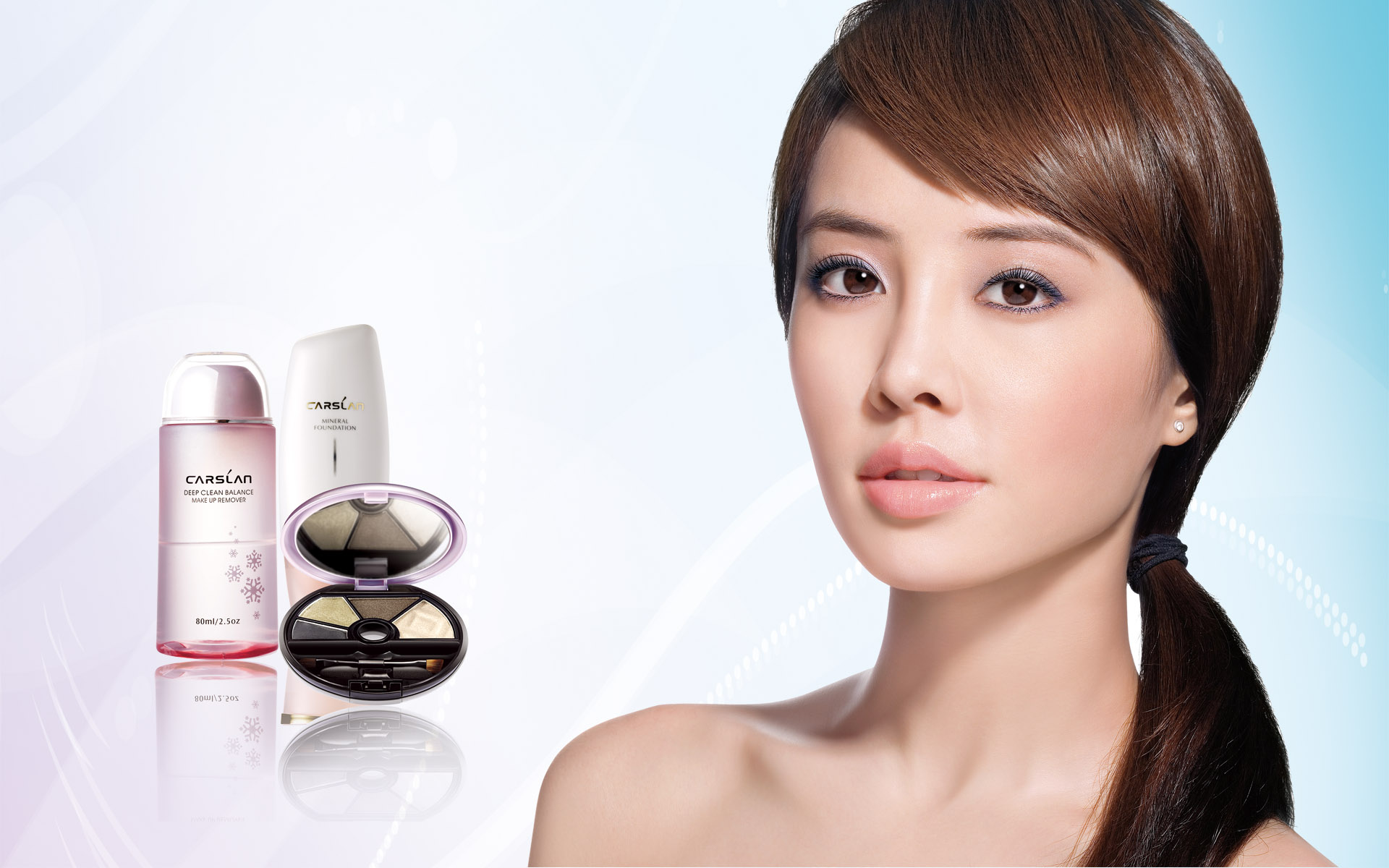 HD cosmetics ads wallpaper 2376