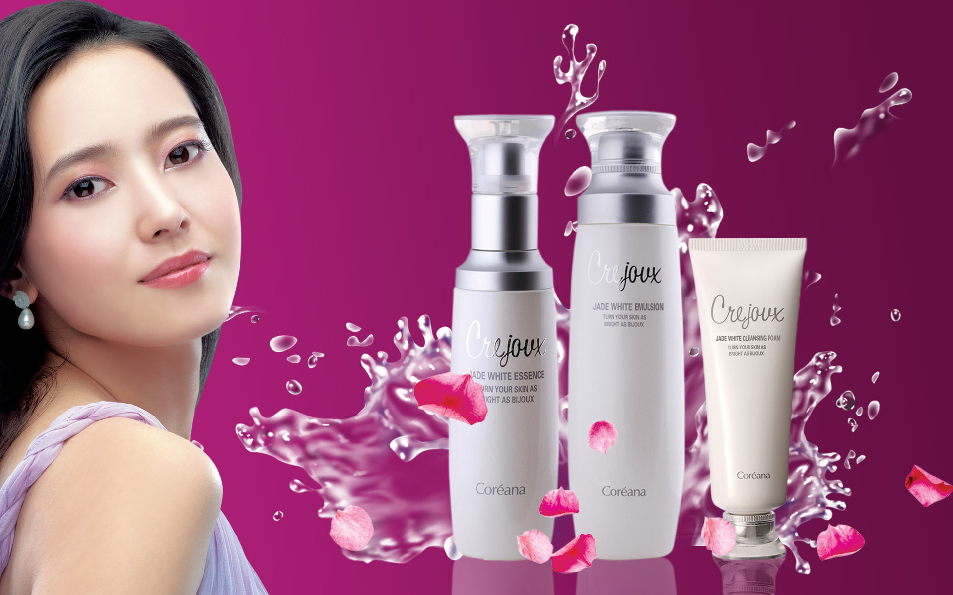 HD Cosmetics Ads Wallpaper 2543