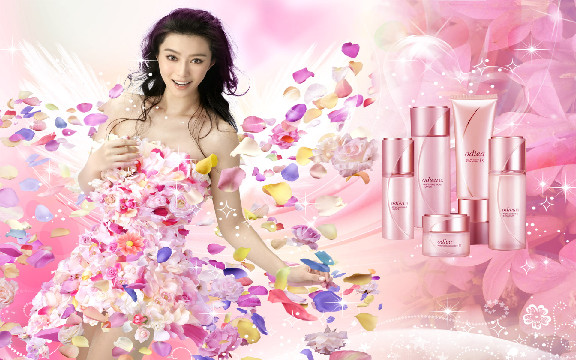 HD cosmetics ads wallpaper 4100