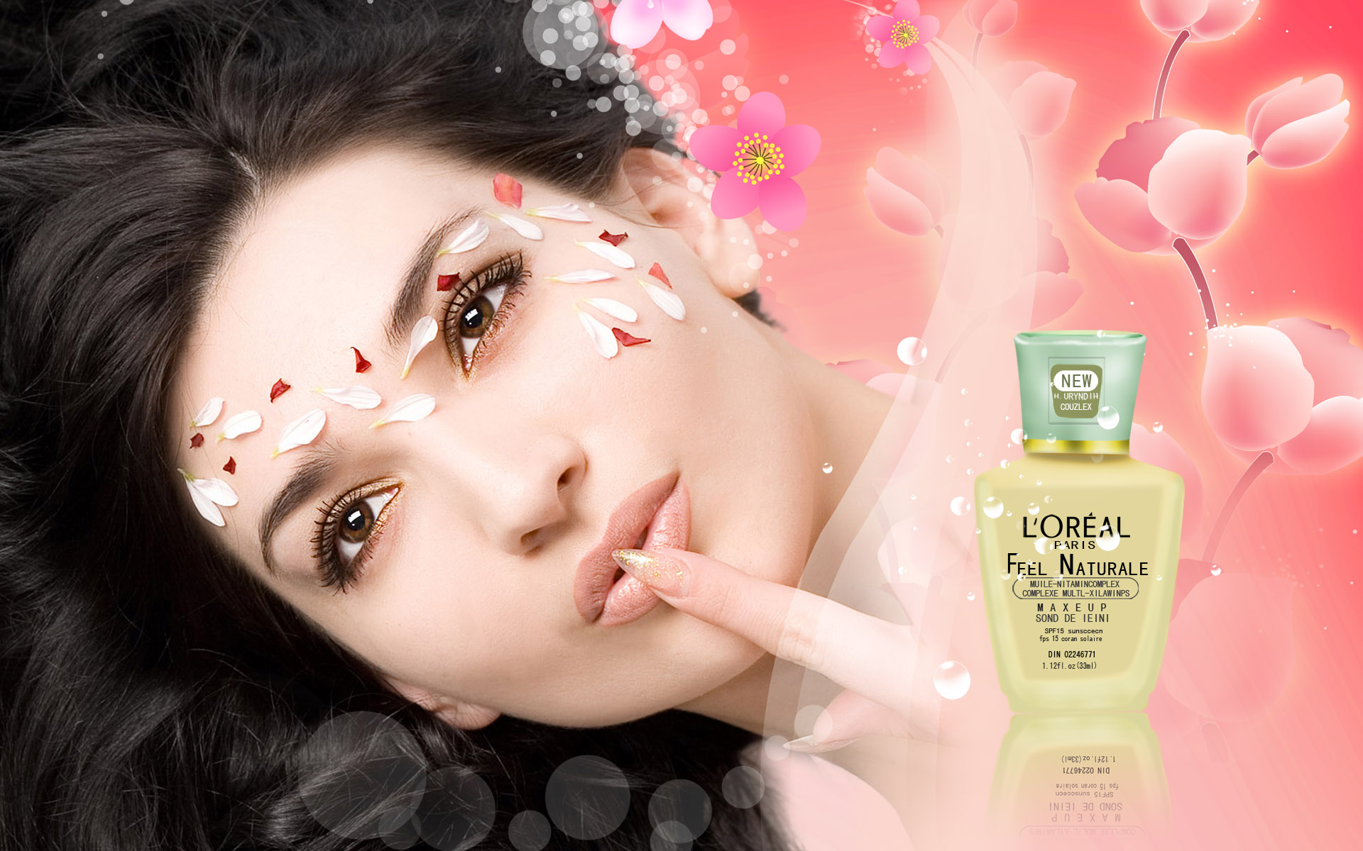 Cosmetic Advertising Wallpapers 7369