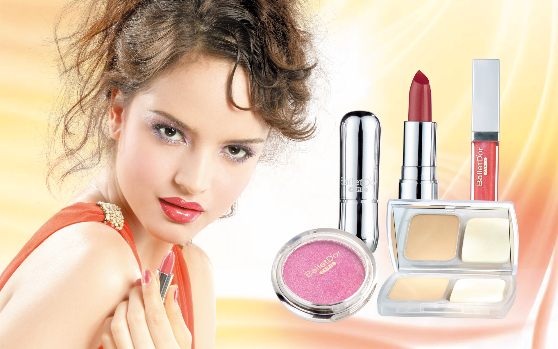 Cosmetic Advertising Wallpapers 9808